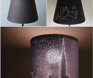 diy, lamp, and light image
