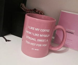 cup, tea, and pink image