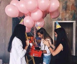 friends and birthday image