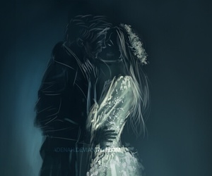 kiss, once upon a time, and dark image