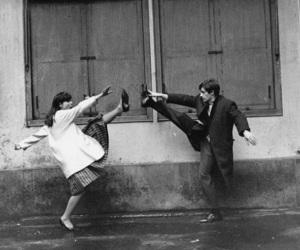 b&w, love, and dance image