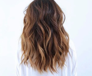 beautiful, brown, and waves image