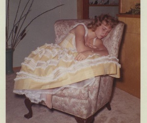 vintage, dress, and pretty image