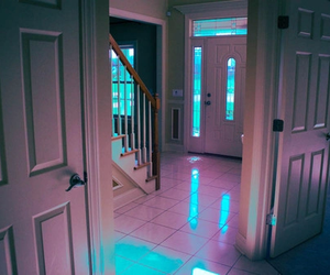 light, blue, and pink image