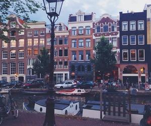 amsterdam, grunge, and winter image