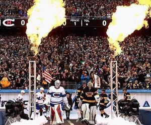 boston, canadian, and hockey image