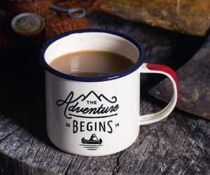 adventure, cup, and mug image