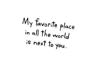 you, favorite place, and love image