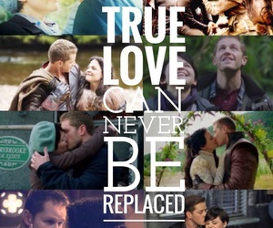 once upon a time, snow white, and true love image