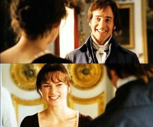 pride and prejudice, mr darcy, and smile image