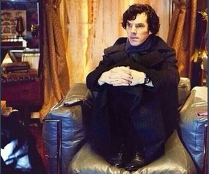 sherlock, tab, and waiting image