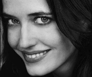 actress, black and white, and eva green image