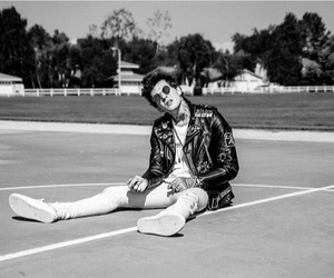 black and white, the neighbourhood, and jesse rutherford image