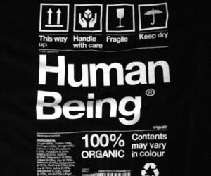 human, grunge, and human being image