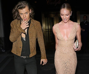 candice swanepoel and Harry Styles image