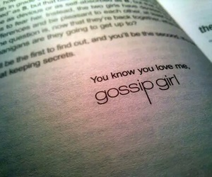 gossip girl, book, and xoxo image
