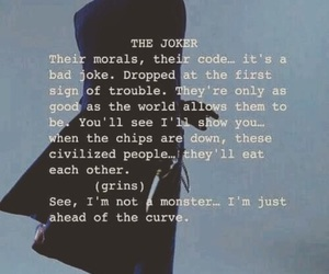 joker, monster, and quote image