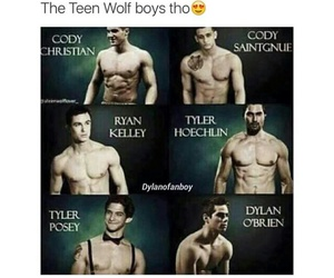 funny, stiles, and scott mccall image