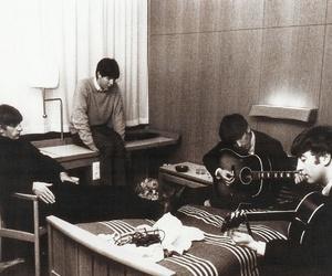 band, john lennon, and beatles image