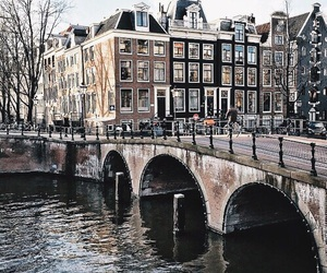 travel, amsterdam, and city image