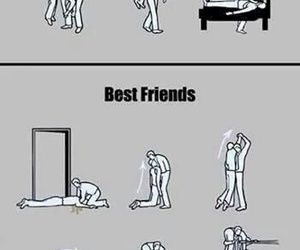 friends, best friends, and funny image