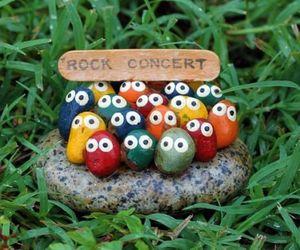 rock, concert, and rock concert image