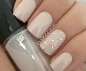 nails, nail art, and Nude image