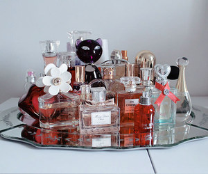 decoration, perfumes, and plates image