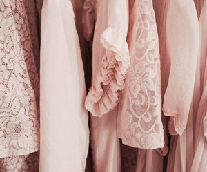 pink, clothes, and vintage image
