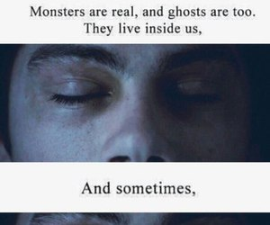 teen wolf, dylan o'brien, and monster image