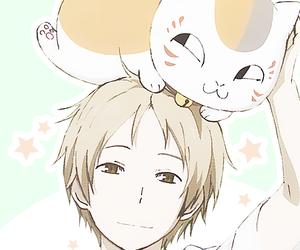 anime, natsume takashi, and nyanko sensei image