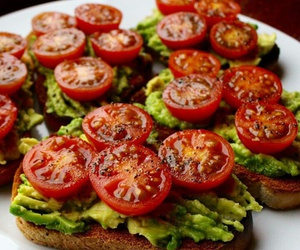 avocado, breakfast, and fitness image