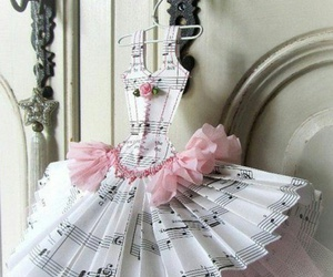 dress, ballet, and music image