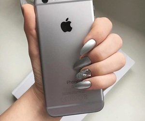 apple, book, and nails image