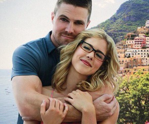 arrow, oliver queen, and olicity image