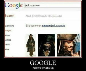 funny, jack sparrow, and captain jack sparrow image
