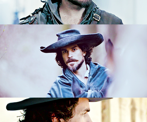 queen anne, athos, and santiago cabrera image