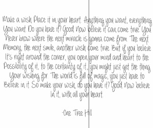 believe, inspiration, and one tree hill image