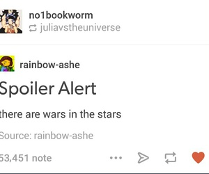 star wars, text, and tumblr image