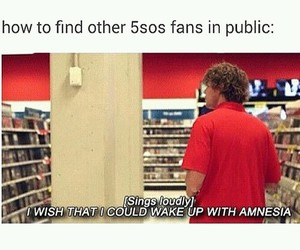 5sos, 5 seconds of summer, and funny image