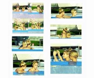 memories, justinbieber, and haileybaldwin image
