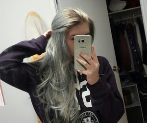 bluey, green, and hair image