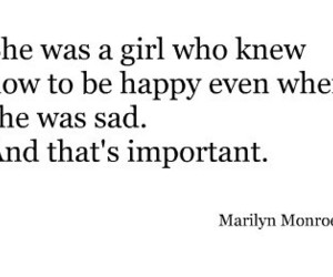 quote, Marilyn Monroe, and happy image