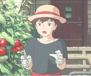 anna, ghibli, and when marine was there image