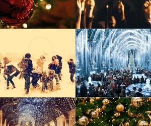 hogwarts, new year, and magic image