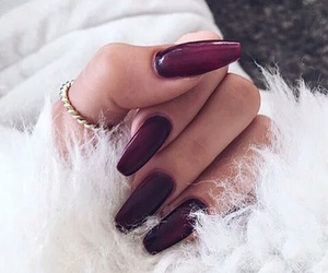 nails, style, and red image