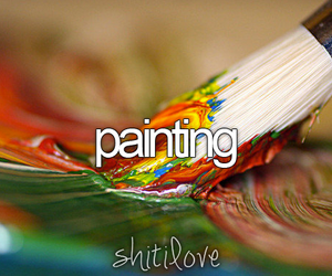 painting, colors, and paint image