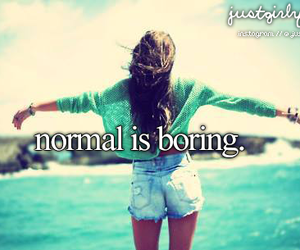 boring, normal, and normal is boring image