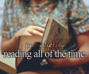 book, reading, and just girly things image