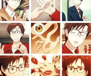 anime, parasyte, and migi image